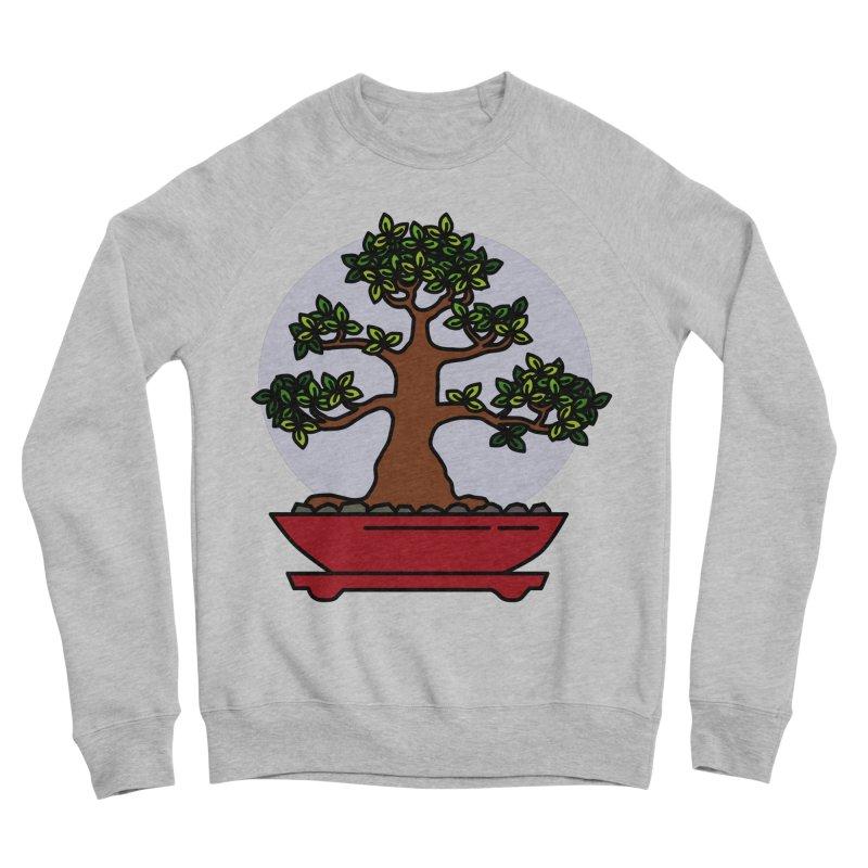 Bonsai Tree - #4 Women's Sponge Fleece Sweatshirt by LadyBaigStudio's Artist Shop