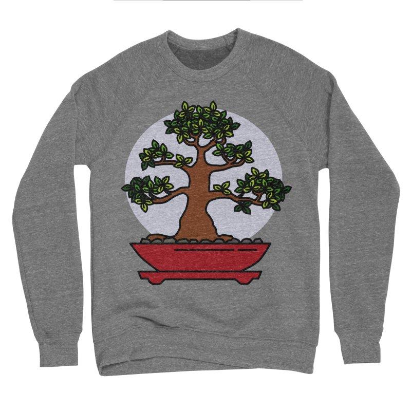 Bonsai Tree - #4 Men's Sponge Fleece Sweatshirt by LadyBaigStudio's Artist Shop