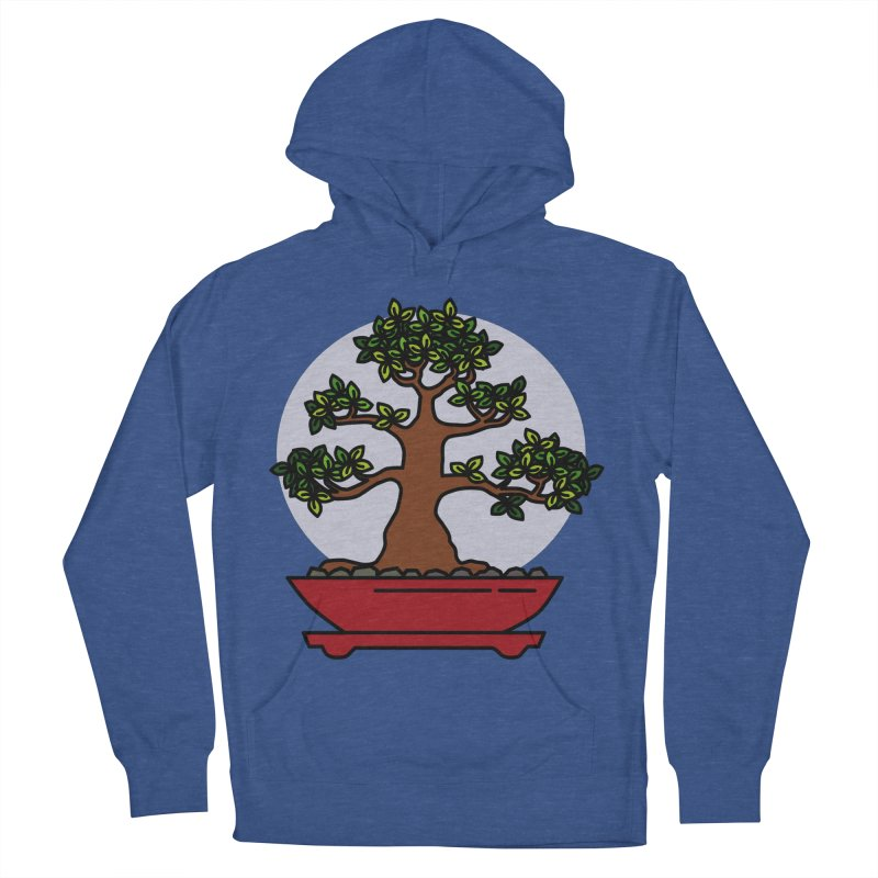 Bonsai Tree - #4 Women's French Terry Pullover Hoody by LadyBaigStudio's Artist Shop