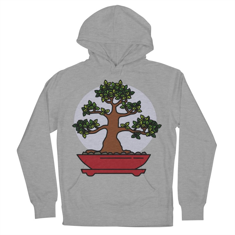 Bonsai Tree - #4 Men's French Terry Pullover Hoody by LadyBaigStudio's Artist Shop