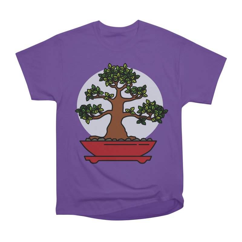 Bonsai Tree - #4 Men's Heavyweight T-Shirt by LadyBaigStudio's Artist Shop