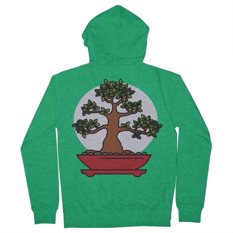 Bonsai Tree - #4 Women's Zip-Up Hoody by LadyBaigStudio's Artist Shop