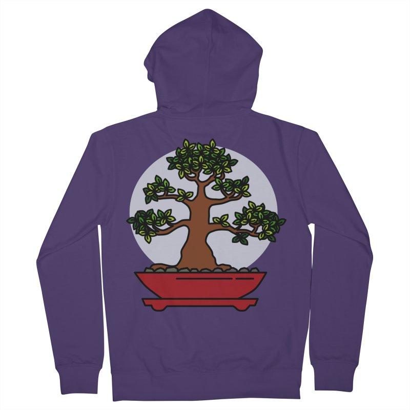 Bonsai Tree - #4 Women's French Terry Zip-Up Hoody by LadyBaigStudio's Artist Shop