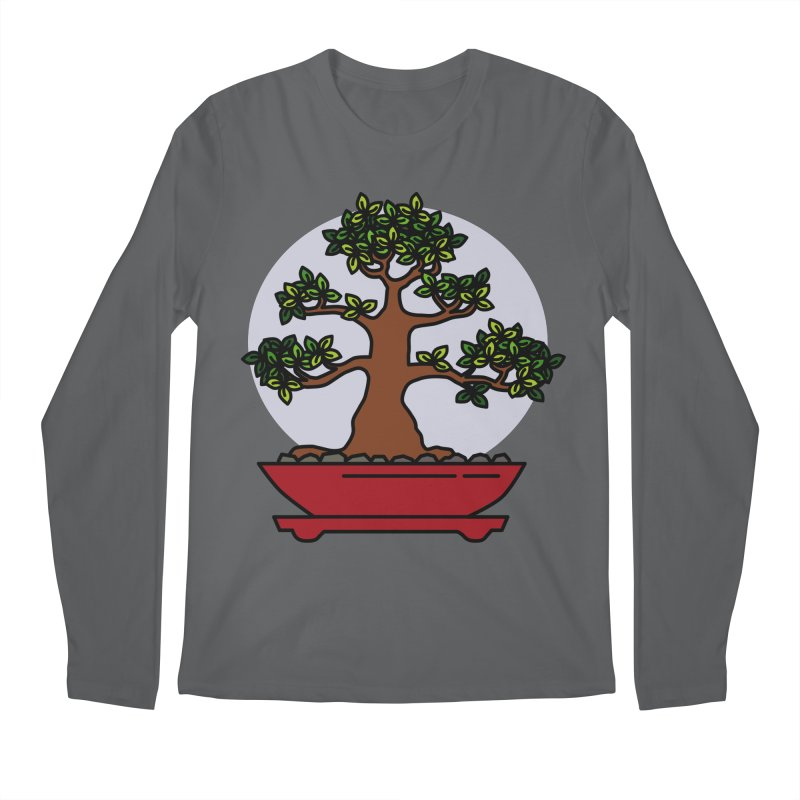 Bonsai Tree - #4 Men's Longsleeve T-Shirt by LadyBaigStudio's Artist Shop