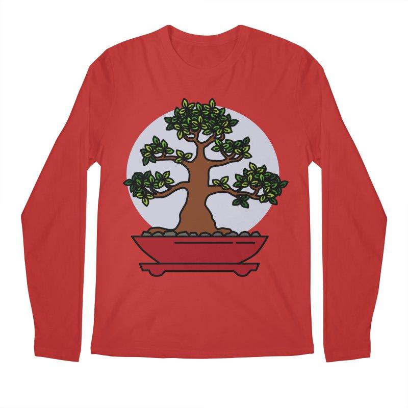Bonsai Tree - #4 Men's Regular Longsleeve T-Shirt by LadyBaigStudio's Artist Shop