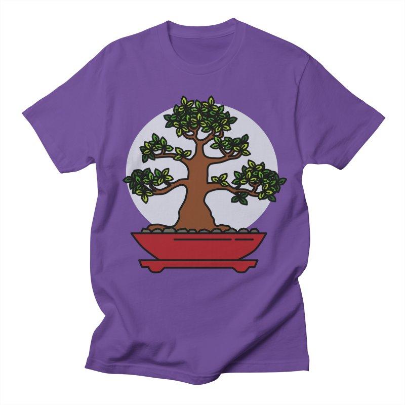 Bonsai Tree - #4 Women's Regular Unisex T-Shirt by LadyBaigStudio's Artist Shop