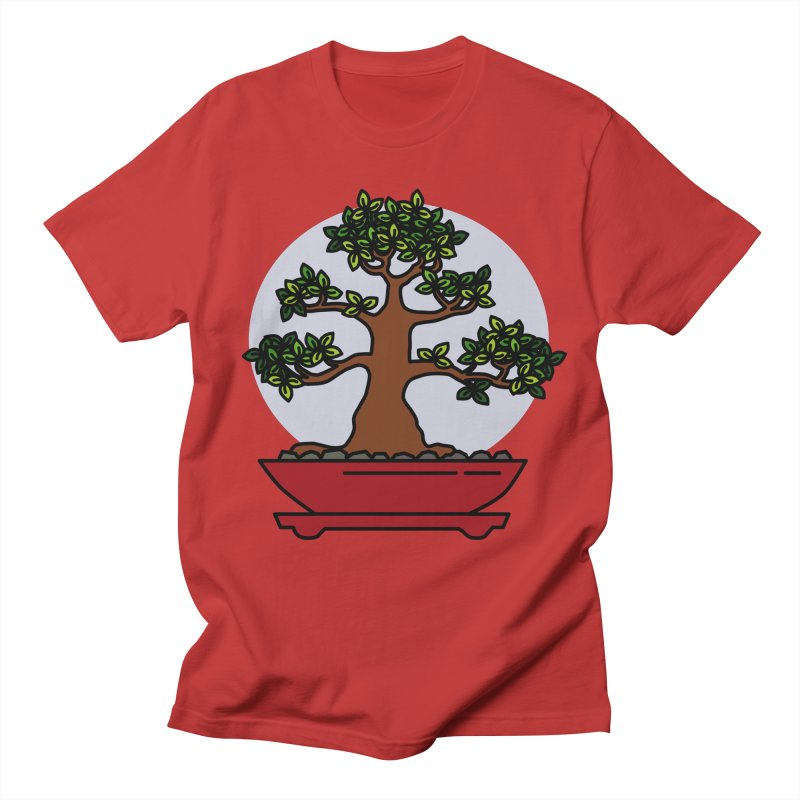 Bonsai Tree - #4 Women's Regular Unisex T-Shirt by LadyBaigStudio's Artist Shop