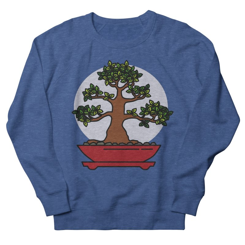 Bonsai Tree - #4 Women's French Terry Sweatshirt by LadyBaigStudio's Artist Shop