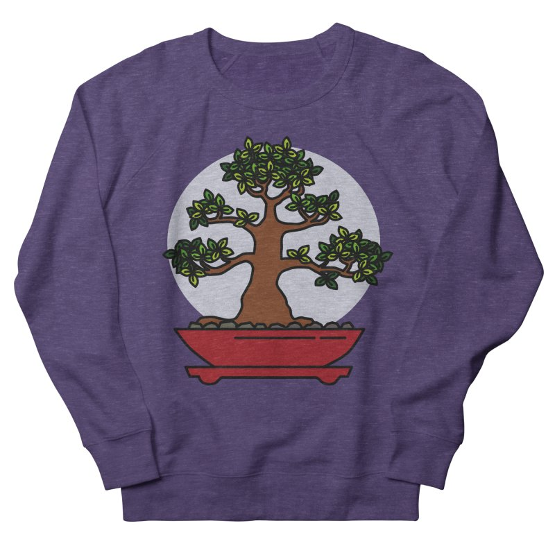 Bonsai Tree - #4 Men's French Terry Sweatshirt by LadyBaigStudio's Artist Shop