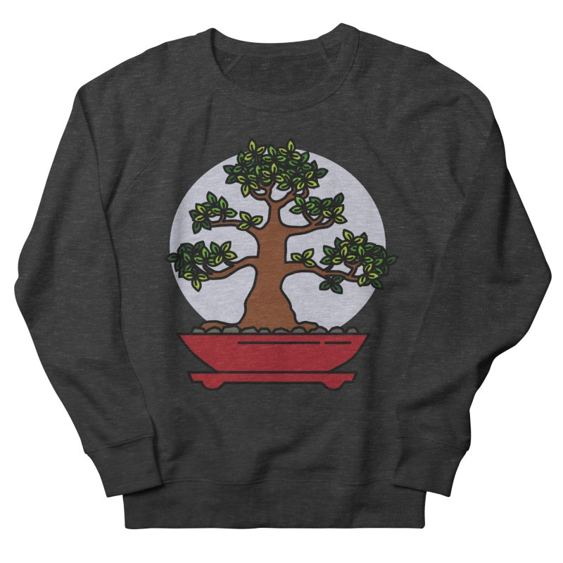 Bonsai Tree - #4 Men's Sweatshirt by LadyBaigStudio's Artist Shop