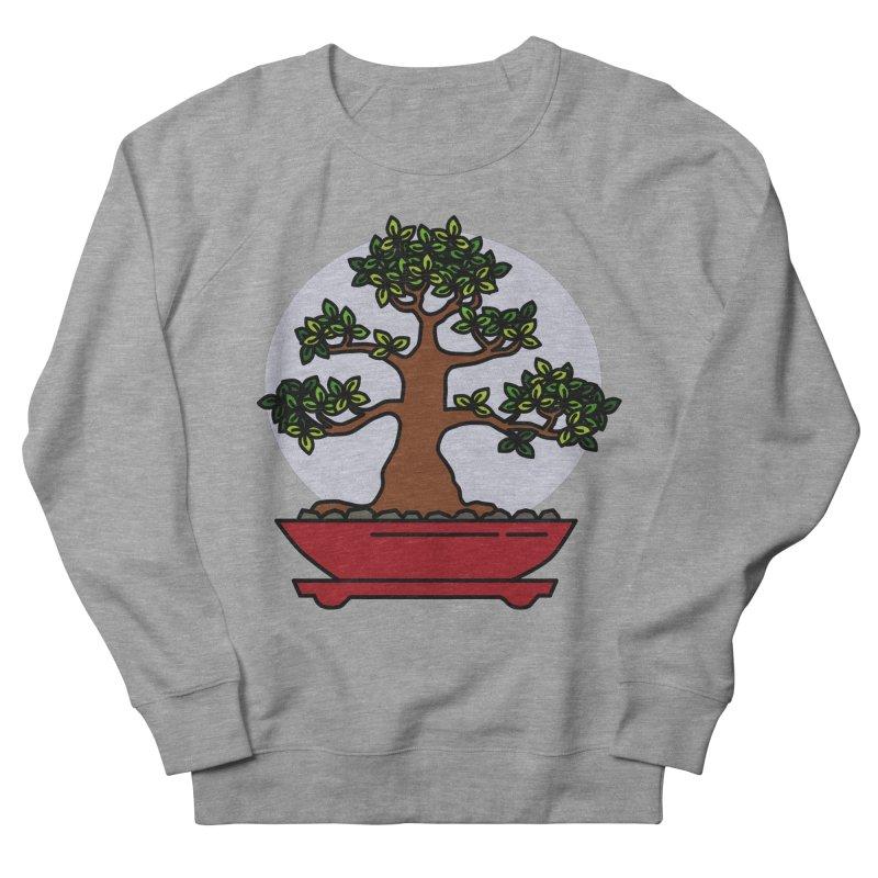 Bonsai Tree - #4 Men's French Terry Sweatshirt by LadyBaigStudio's Artist Shop