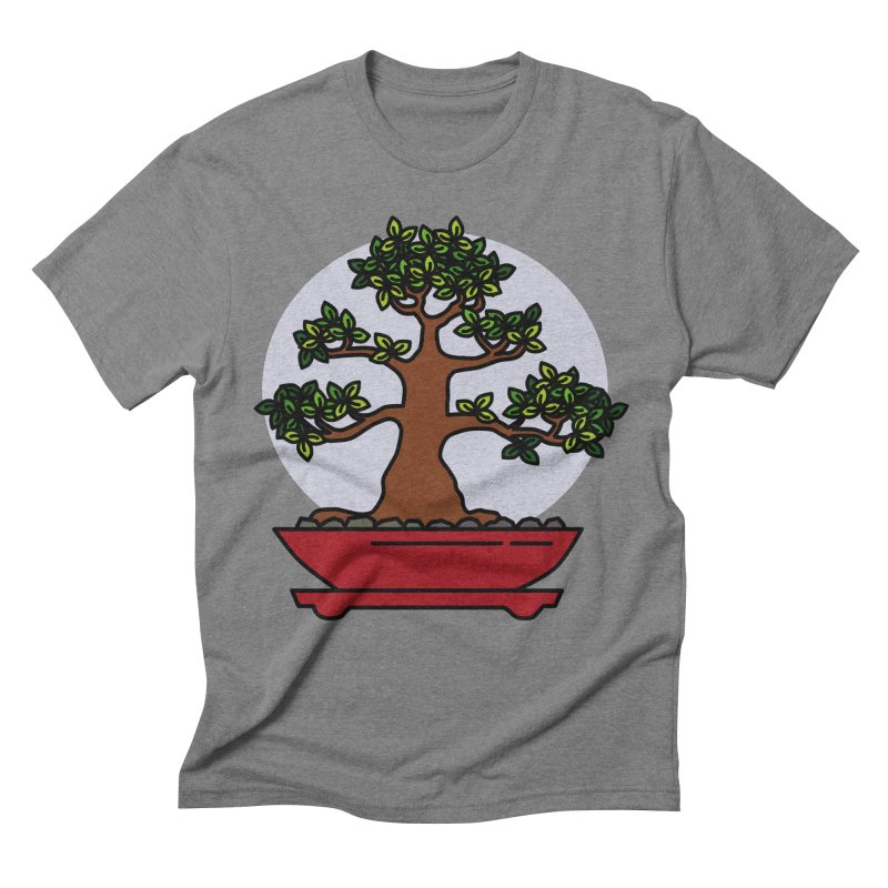 Bonsai Tree - #4 Men's Triblend T-Shirt by LadyBaigStudio's Artist Shop