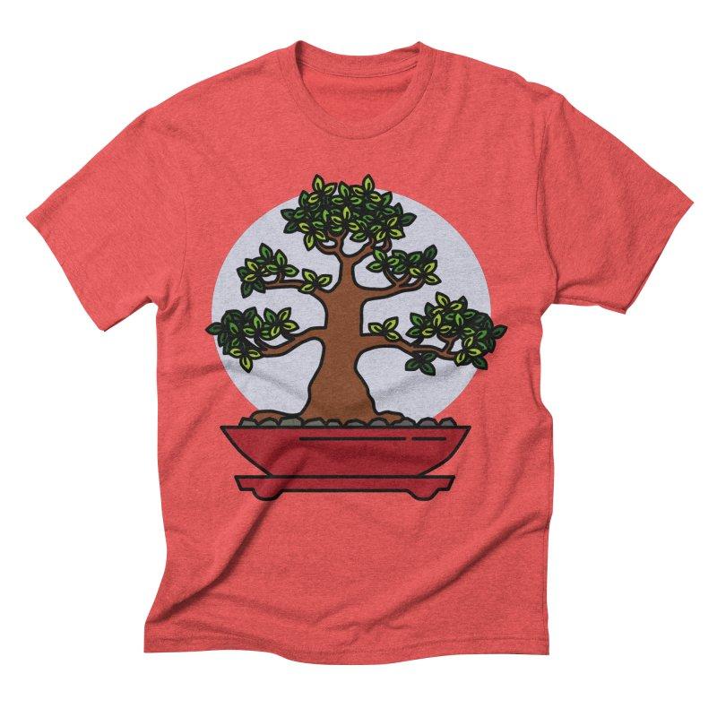 Bonsai Tree - #4 Men's Triblend T-Shirt by LadyBaigStudio's Artist Shop