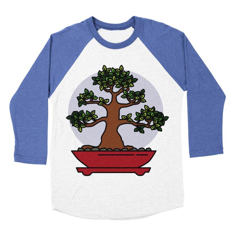 Bonsai Tree - #4 Men's Baseball Triblend Longsleeve T-Shirt by LadyBaigStudio's Artist Shop
