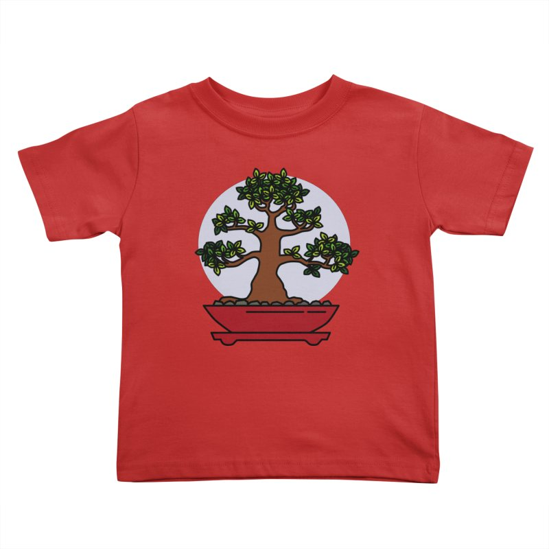 Bonsai Tree - #4 Kids Toddler T-Shirt by LadyBaigStudio's Artist Shop