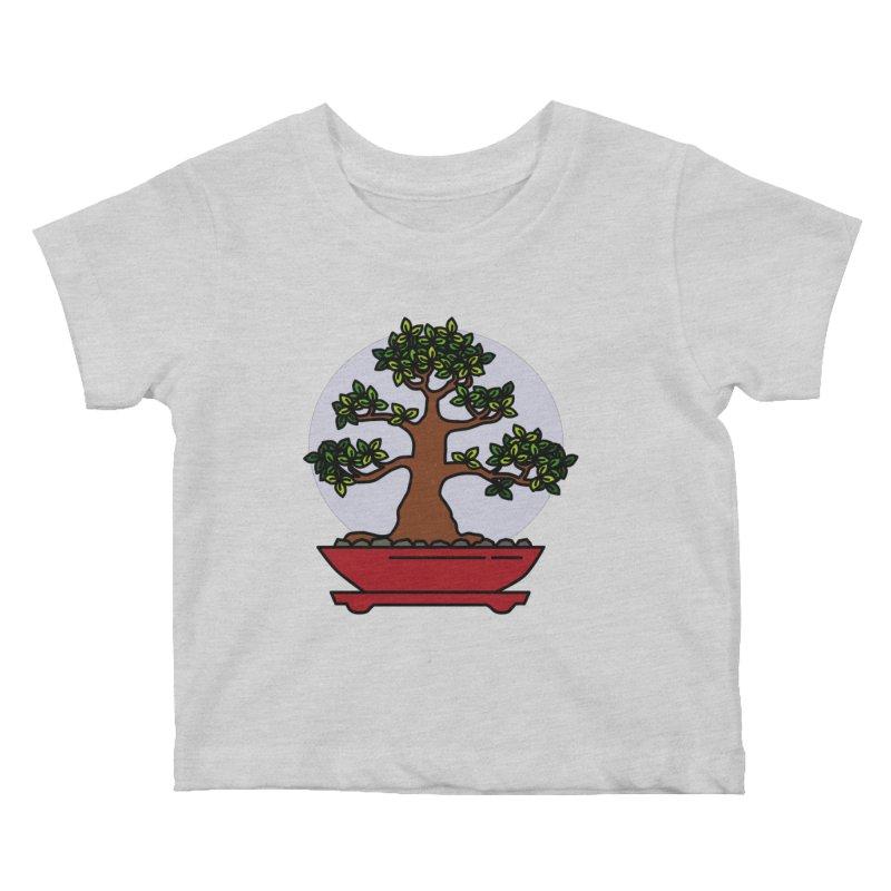 Bonsai Tree - #4 Kids Baby T-Shirt by LadyBaigStudio's Artist Shop