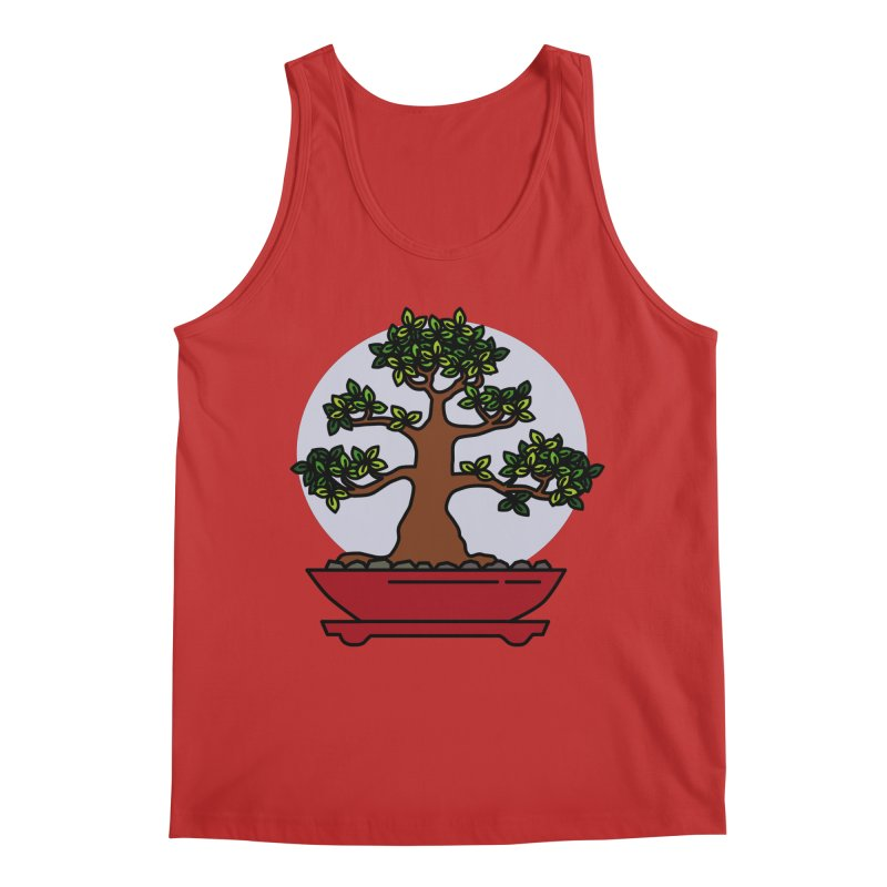 Bonsai Tree - #4 Men's Tank by LadyBaigStudio's Artist Shop