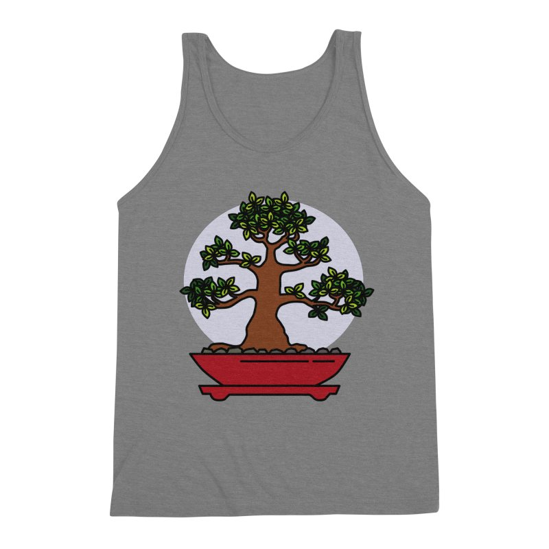 Bonsai Tree - #4 Men's Tank by LadyBaigStudio's Artist Shop