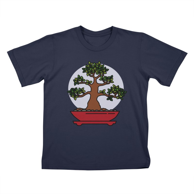 Bonsai Tree - #4 Kids T-Shirt by LadyBaigStudio's Artist Shop