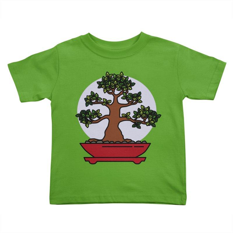 Bonsai Tree - #4 Kids Toddler T-Shirt by LadyBaigStudio's Artist Shop