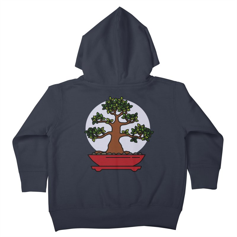 Bonsai Tree - #4 Kids Toddler Zip-Up Hoody by LadyBaigStudio's Artist Shop