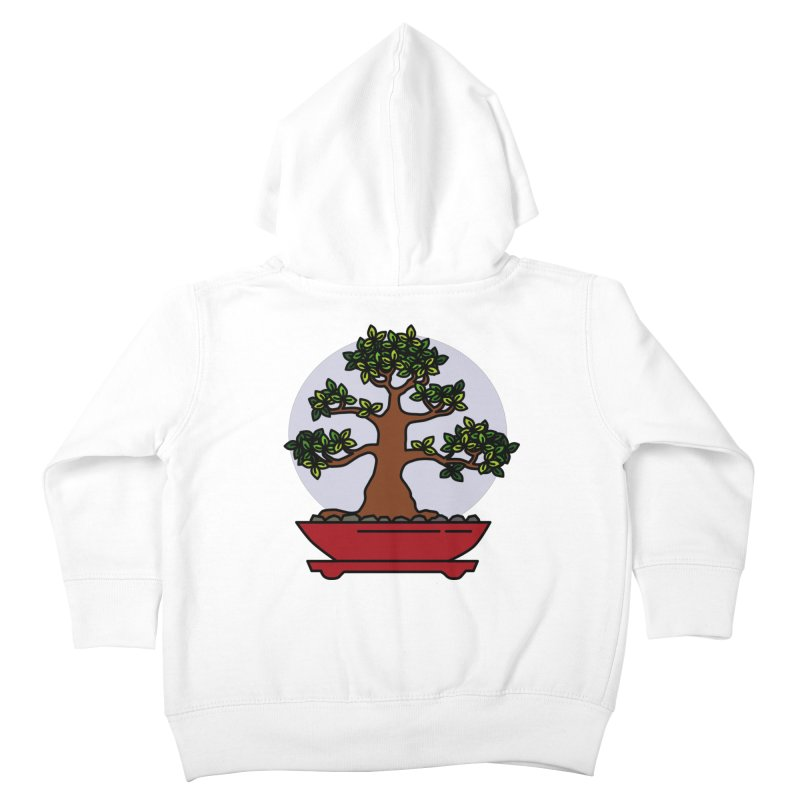 Bonsai Tree - #4 Kids Toddler Zip-Up Hoody by LadyBaigStudio's Artist Shop