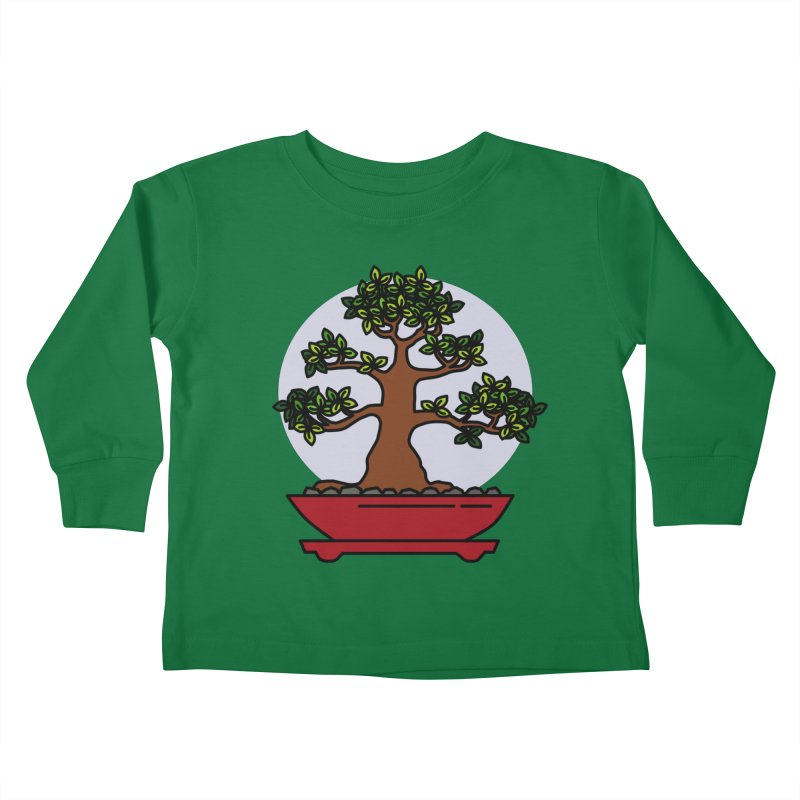 Bonsai Tree - #4 Kids Toddler Longsleeve T-Shirt by LadyBaigStudio's Artist Shop