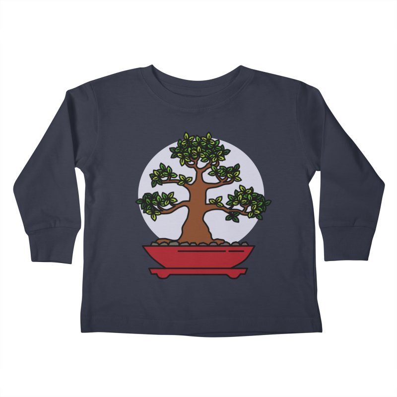 Bonsai Tree - #4 Kids Toddler Longsleeve T-Shirt by LadyBaigStudio's Artist Shop