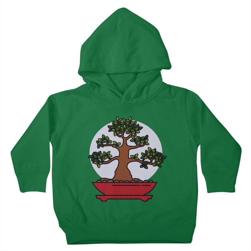 Bonsai Tree - #4 Kids Toddler Pullover Hoody by LadyBaigStudio's Artist Shop
