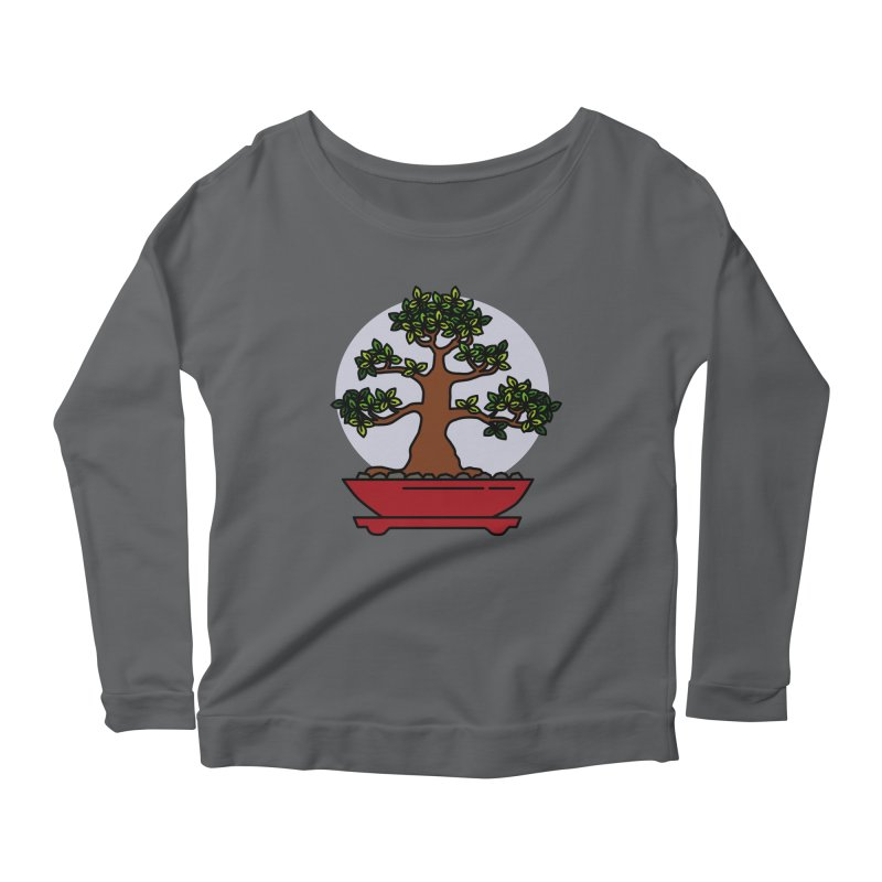 Bonsai Tree - #4 Women's Longsleeve T-Shirt by LadyBaigStudio's Artist Shop