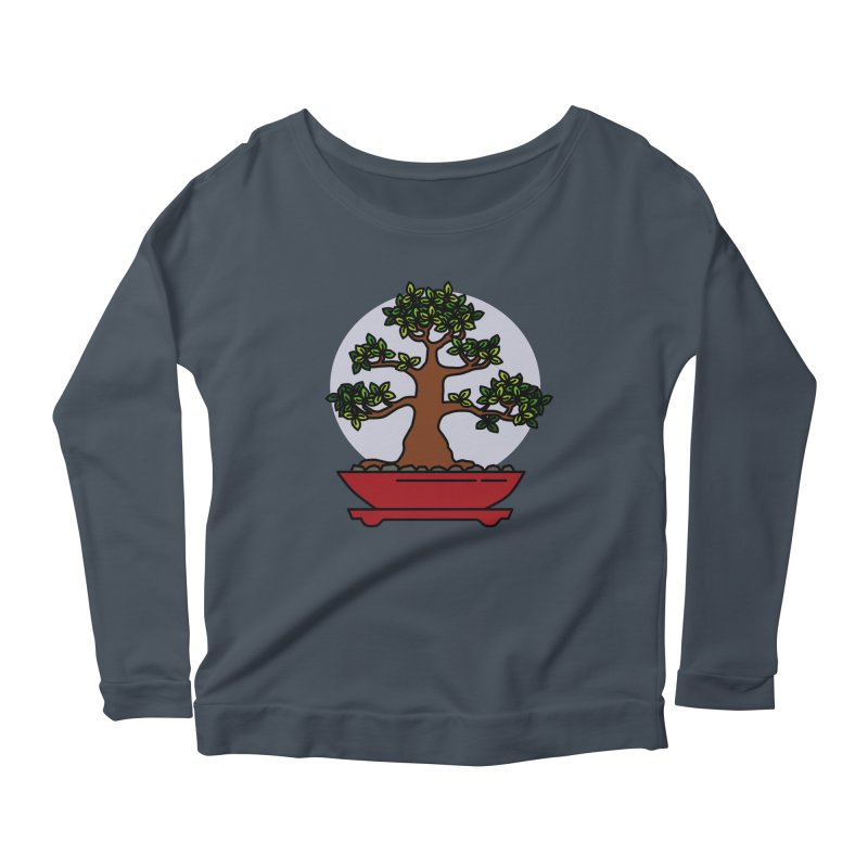 Bonsai Tree - #4 Women's Longsleeve T-Shirt by LadyBaigStudio's Artist Shop