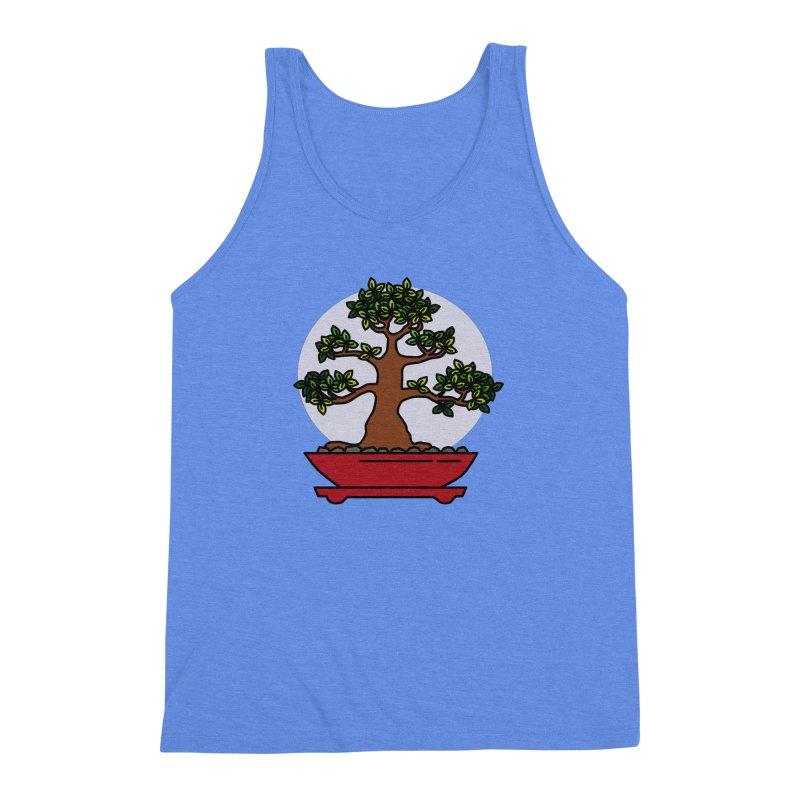 Bonsai Tree - #4 Men's Triblend Tank by LadyBaigStudio's Artist Shop