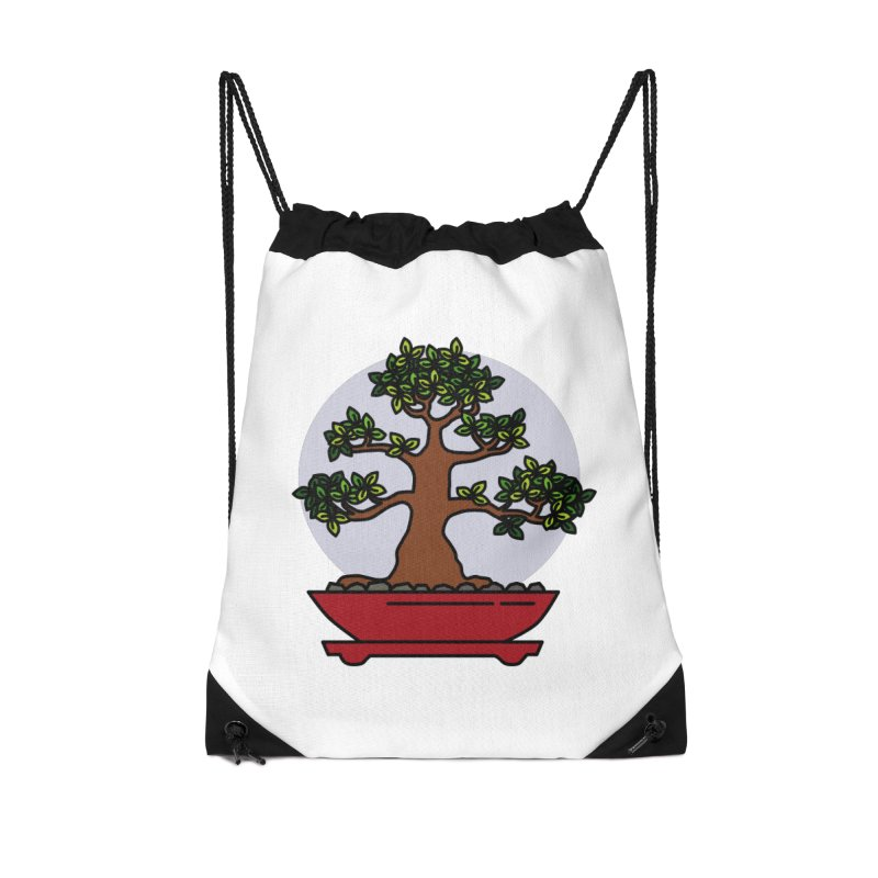 Bonsai Tree - #4 Accessories Bag by LadyBaigStudio's Artist Shop