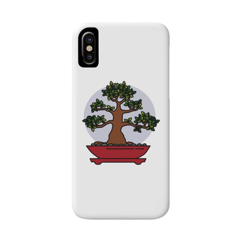 Bonsai Tree - #4 Accessories Phone Case by LadyBaigStudio's Artist Shop