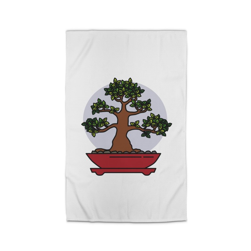 Bonsai Tree - #4 Home Rug by LadyBaigStudio's Artist Shop