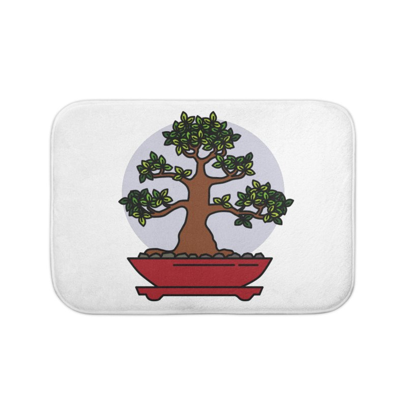 Bonsai Tree - #4 Home Bath Mat by LadyBaigStudio's Artist Shop