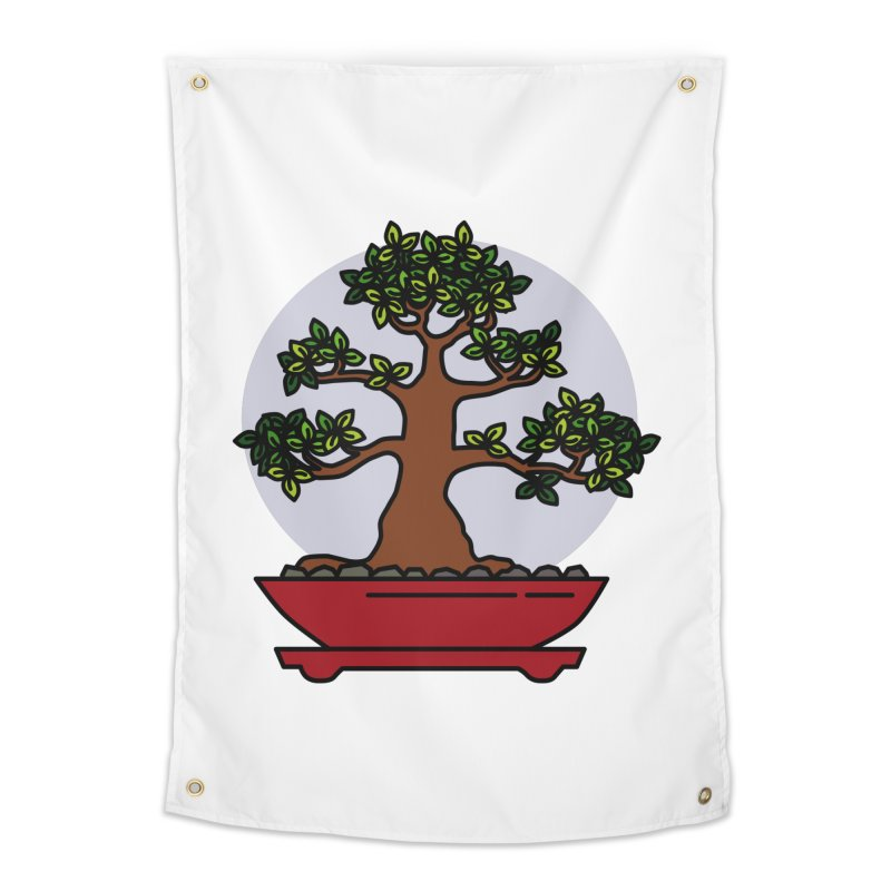Bonsai Tree - #4 Home Tapestry by LadyBaigStudio's Artist Shop