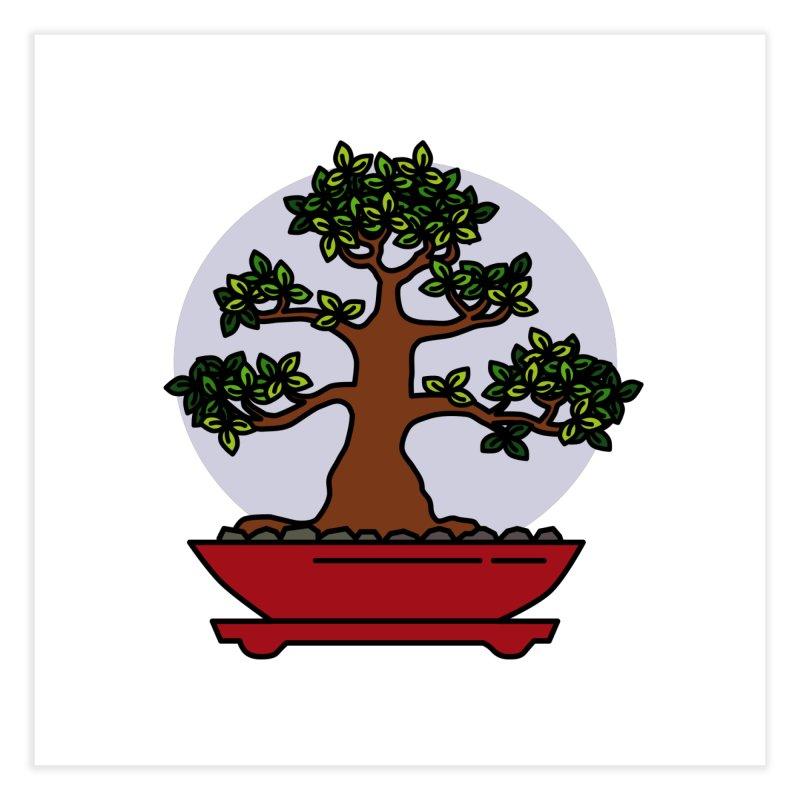 Bonsai Tree - #4 Home Fine Art Print by LadyBaigStudio's Artist Shop