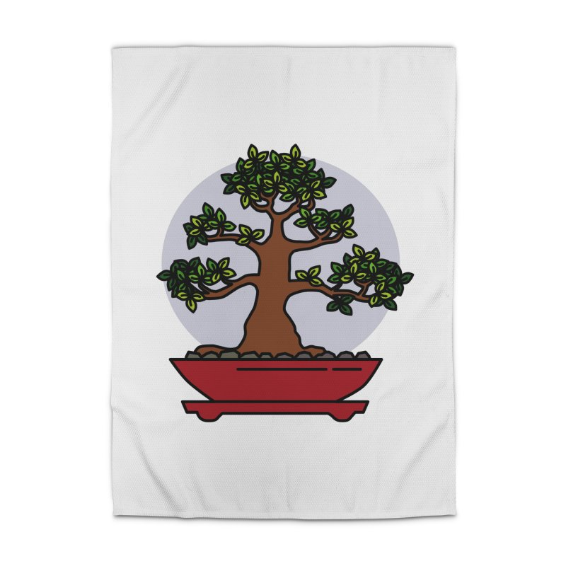 Bonsai Tree - #4 Home Rug by LadyBaigStudio's Artist Shop