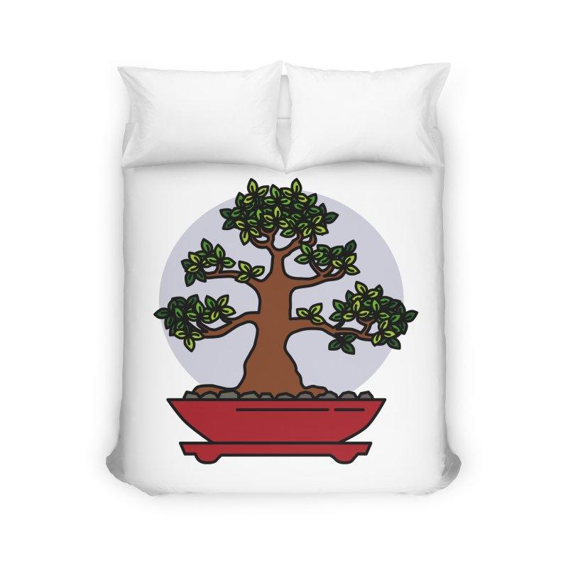 Bonsai Tree - #4 Home Duvet by LadyBaigStudio's Artist Shop