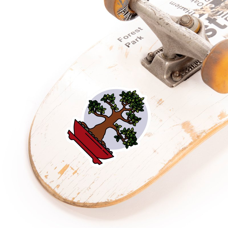 Bonsai Tree - #4 Accessories Sticker by LadyBaigStudio's Artist Shop