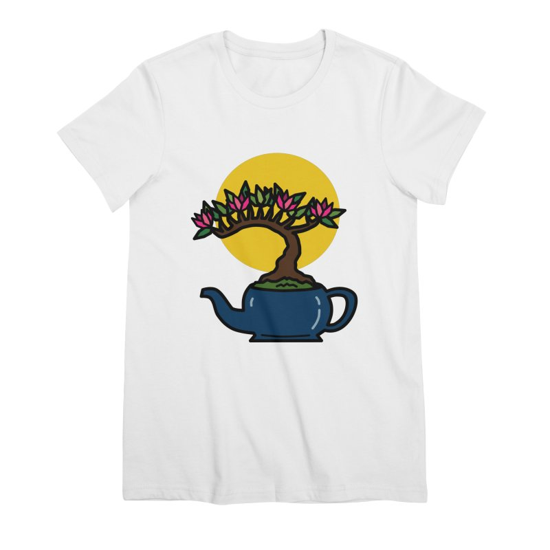 Bonsai Tree - #5 Women's Premium T-Shirt by LadyBaigStudio's Artist Shop