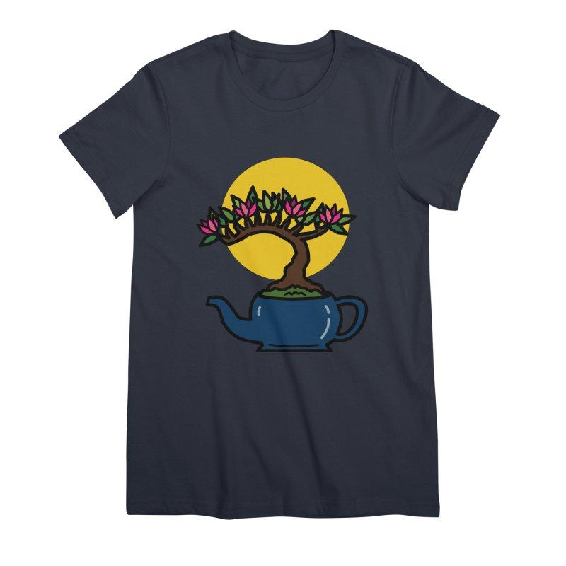 Bonsai Tree - #5 Women's Premium T-Shirt by LadyBaigStudio's Artist Shop