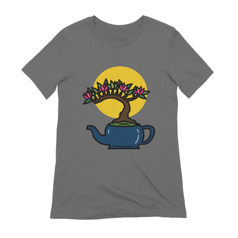 Bonsai Tree - #5 Women's Extra Soft T-Shirt by LadyBaigStudio's Artist Shop