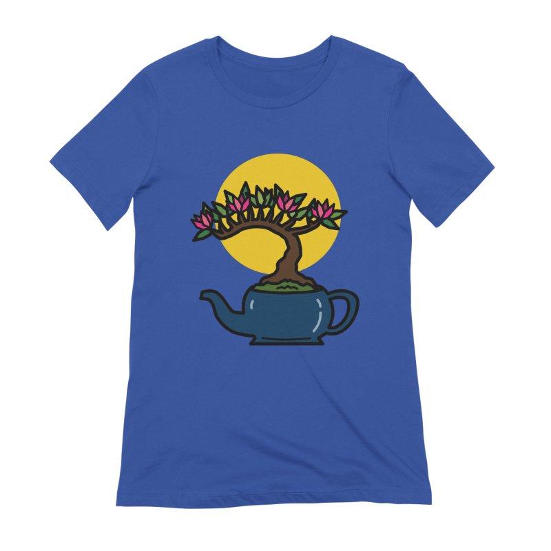 Bonsai Tree - #5 Women's Extra Soft T-Shirt by LadyBaigStudio's Artist Shop