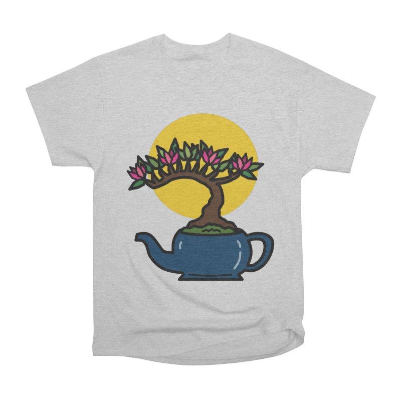 Bonsai Tree - #5 Men's T-Shirt by LadyBaigStudio's Artist Shop