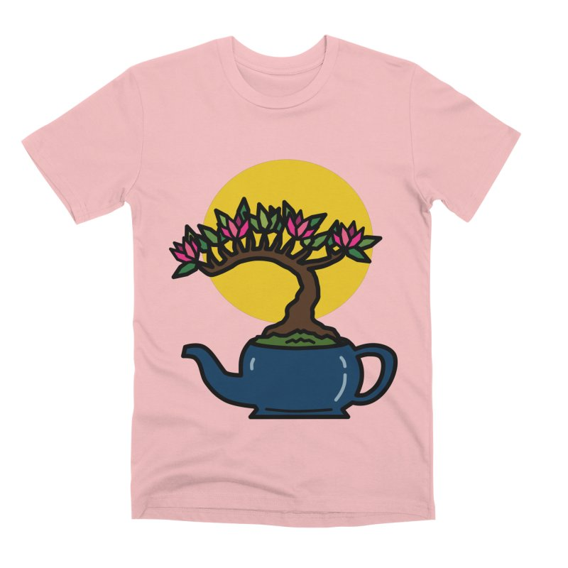 Bonsai Tree - #5 Men's Premium T-Shirt by LadyBaigStudio's Artist Shop