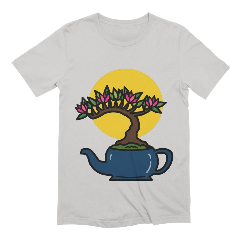 Bonsai Tree - #5 Men's Extra Soft T-Shirt by LadyBaigStudio's Artist Shop