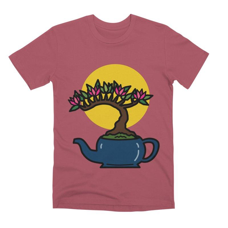 Bonsai Tree - #5 Men's Premium T-Shirt by LadyBaigStudio's Artist Shop