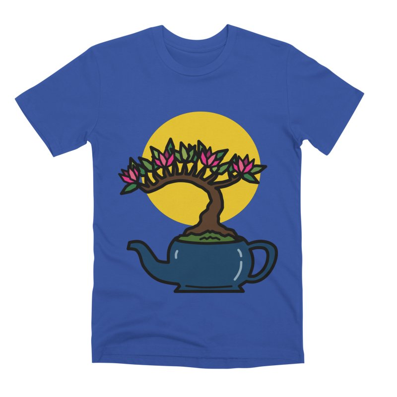 Bonsai Tree - #5 Men's T-Shirt by LadyBaigStudio's Artist Shop
